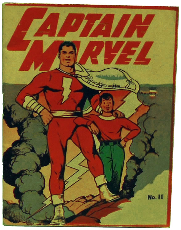 Captain Marvel Adventures (Mighty Midget Comic) No. 11. Samuel E. Lowe, Co