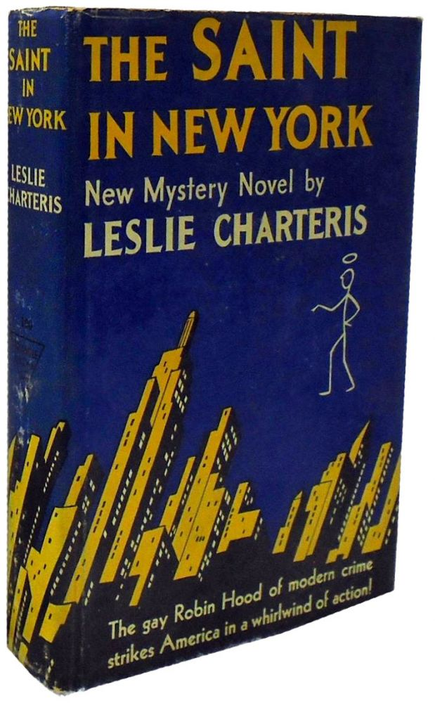 The Saint in New York. Leslie Charteris.