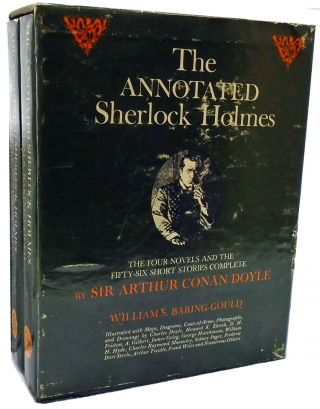 The Annotated Sherlock Holmes; Boxed 2-Book set. Sir Arthur Conan Doyle, William S. Baring-Gould